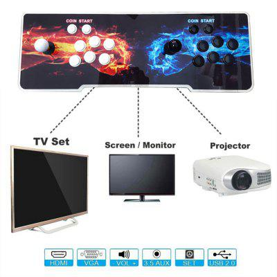 999 Video Games Arcade Console Machine Double Joystick Pandoras Box 5s VGA HDMI 7Handheld Games<br>999 Video Games Arcade Console Machine Double Joystick Pandoras Box 5s VGA HDMI 7<br><br>Brand: Other<br>Charge way: AC adapter<br>Compatible with: Game Console, Built-in Games, MIMU TV, PC, Tablet PC, TV<br>Language: English,Korea<br>Operating system: Android<br>Package Contents: 1x Arcade Console ,  2x buttons, 1x HDMI Cable , 1x USB Cable, 1x VGA Cable , 1x EU Plug, 1x 12v3a adapter , 1x English User manual<br>Package size: 68.00 x 25.00 x 17.00 cm / 26.77 x 9.84 x 6.69 inches<br>Package weight: 5.0000 kg<br>Pre-positioned Games Number: 999<br>Product size: 66.00 x 22.50 x 6.50 cm / 25.98 x 8.86 x 2.56 inches<br>Product weight: 3.2200 kg<br>ROM: 16GB