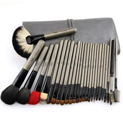 26PCS Professional Personal MakeUp Brush with Animal Hair