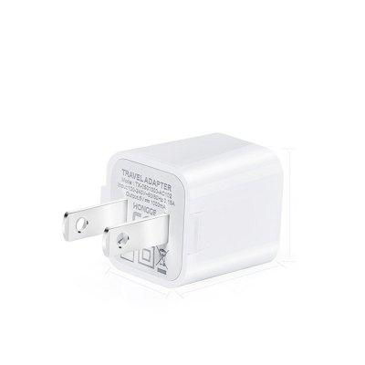 USB Wall Charger  1A/5V Universal Portable Travel Adapter High Speed 1.0A Output for iPhone iPad HTC LG iPod Nokia