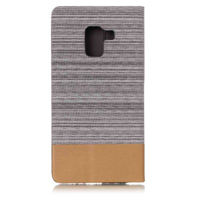 Wkae Canvas Texture PU Leather Wallet Case for Samsung Galaxy A5 2018Samsung A Series<br>Wkae Canvas Texture PU Leather Wallet Case for Samsung Galaxy A5 2018<br><br>Features: Full Body Cases, Cases with Stand, With Credit Card Holder<br>For: Samsung Mobile Phone<br>Material: TPU, PU Leather<br>Package Contents: 1 x Phone Case<br>Package size (L x W x H): 16.00 x 10.00 x 4.00 cm / 6.3 x 3.94 x 1.57 inches<br>Package weight: 0.1000 kg<br>Product weight: 0.0500 kg<br>Style: Vintage