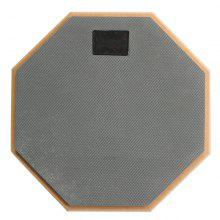 Gray Soft Rubber 8 inch 2-Sided Dumb Drum Practice Pad