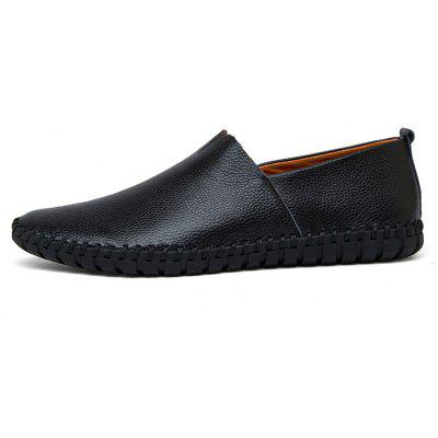 Doug Shoes Pure Manual DrivingFlats &amp; Loafers<br>Doug Shoes Pure Manual Driving<br><br>Available Size: 38.39.40.41.42.43.44.45.46.47.48<br>Closure Type: Slip-On<br>Embellishment: None<br>Gender: For Men<br>Insole Material: PU<br>Lining Material: Synthetic<br>Occasion: Casual<br>Outsole Material: Rubber<br>Package Contents: 1 xshoes(pair)<br>Pattern Type: Solid<br>Season: Summer, Spring/Fall<br>Shoe Width: Medium(B/M)<br>Toe Shape: Round Toe<br>Toe Style: Closed Toe<br>Upper Material: Genuine Leather<br>Weight: 1.3824kg