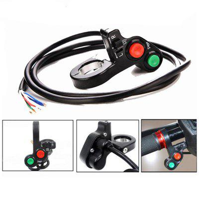 Motorcycle Modified  22MM General Handle Switch Headlight Horn Steering Lights Multi-function Combination
