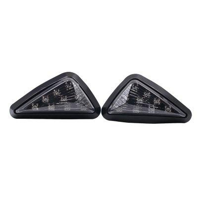 Motorcycle Smoke LED Flush Mount Turn Signals Blinker Light for Honda CBR F4i 600RR 929RR 954RR 1000RR