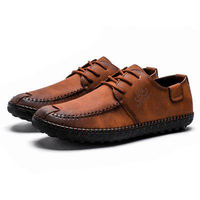 Vintage Handmade Mens Oxford ShoesMen's Oxford<br>Vintage Handmade Mens Oxford Shoes<br><br>Available Size: 39,40,41,42,43<br>Closure Type: Lace-Up<br>Embellishment: None<br>Gender: For Men<br>Occasion: Casual<br>Outsole Material: Rubber<br>Package Contents: 1xShoes(pair)<br>Pattern Type: Others<br>Season: Winter, Spring/Fall<br>Toe Shape: Round Toe<br>Toe Style: Closed Toe<br>Upper Material: PU<br>Weight: 1.6896kg