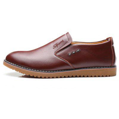 Mens Leather Shoes for BusinessMen's Oxford<br>Mens Leather Shoes for Business<br><br>Available Size: 39,40,41,42,43,44<br>Closure Type: Slip-On<br>Embellishment: None<br>Gender: For Men<br>Occasion: Casual<br>Outsole Material: Rubber<br>Package Contents: 1xShoes(pair)<br>Pattern Type: Others<br>Season: Summer, Winter, Spring/Fall<br>Toe Shape: Pointed Toe<br>Toe Style: Closed Toe<br>Upper Material: PU<br>Weight: 1.6896kg