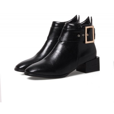 Women Shoes Zip Square Toe Low Heel Ankle BootsWomens Boots<br>Women Shoes Zip Square Toe Low Heel Ankle Boots<br><br>Boot Height: Ankle<br>Boot Tube Circumference: 22<br>Boot Tube Height: 10<br>Boot Type: Motorcycle Boots<br>Closure Type: Zip<br>Embellishment: Buckle<br>Gender: For Women<br>Heel Height: 3<br>Heel Height Range: Low(0.75-1.5)<br>Heel Type: Low Heel<br>Insole Material: PU<br>Lining Material: PU<br>Outsole Material: Rubber<br>Package Contents: 1xShoes(pair)<br>Pattern Type: Solid<br>Platform Height: 1<br>Season: Winter<br>Shoe Width: Medium(B/M)<br>Toe Shape: Square Toe<br>Upper Material: PU<br>Weight: 1.4520kg