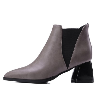 Women Shoes Slip-On Chunky Heel Pointed Toe Concise BootsWomens Boots<br>Women Shoes Slip-On Chunky Heel Pointed Toe Concise Boots<br><br>Boot Height: Ankle<br>Boot Tube Circumference: 23<br>Boot Tube Height: 10<br>Boot Type: Motorcycle Boots<br>Closure Type: Slip-On<br>Gender: For Women<br>Heel Height: 6<br>Heel Height Range: Med(1.75-2.75)<br>Heel Type: Chunky Heel<br>Insole Material: PU<br>Lining Material: PU<br>Outsole Material: Rubber<br>Package Contents: 1xShoes(pair)<br>Pattern Type: Solid<br>Platform Height: 1<br>Season: Winter<br>Shoe Width: Medium(B/M)<br>Toe Shape: Pointed Toe<br>Upper Material: PU<br>Weight: 1.4520kg