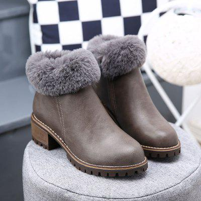 Lady Casual Trend for Fashion Leather SuperStar Lace Up Warm Winter Suede Ankle BootsWomens Boots<br>Lady Casual Trend for Fashion Leather SuperStar Lace Up Warm Winter Suede Ankle Boots<br><br>Boot Height: Ankle<br>Boot Type: Fashion Boots<br>Closure Type: Slip-On<br>Gender: For Women<br>Heel Type: Flat Heel<br>Outsole Material: Rubber<br>Package Contents: 1x Shoes(pair)<br>Pattern Type: Solid<br>Season: Winter<br>Toe Shape: Round Toe<br>Upper Material: Leather<br>Weight: 1.2000kg