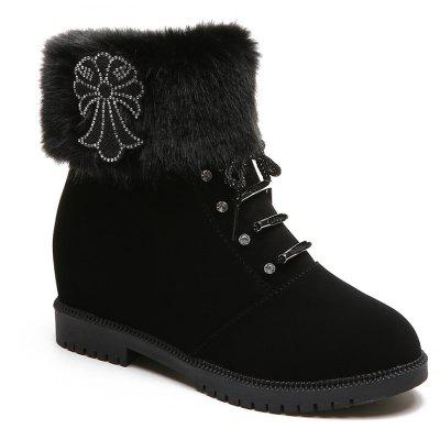 Lady Casual Trend for Fashion Snow SuperStar Suede Warm Winter Ankle Boots