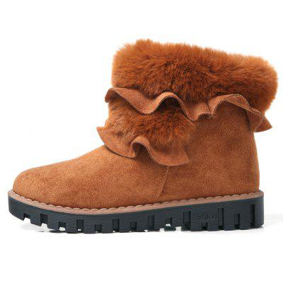 Lady Casual Trend for Fashion Slip on Snow SuperStar Suede Warm Winter Ankle BootsWomens Boots<br>Lady Casual Trend for Fashion Slip on Snow SuperStar Suede Warm Winter Ankle Boots<br><br>Boot Height: Ankle<br>Boot Type: Snow Boots<br>Closure Type: Slip-On<br>Gender: For Women<br>Heel Type: Flat Heel<br>Package Contents: 1x Shoes(pair)<br>Pattern Type: Solid<br>Season: Winter<br>Toe Shape: Round Toe<br>Upper Material: Flock<br>Weight: 1.2000kg
