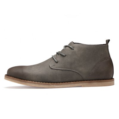 Men Casual Trend for Fashion Lace Up Leather shoesMens Boots<br>Men Casual Trend for Fashion Lace Up Leather shoes<br><br>Available Size: 38-44<br>Closure Type: Lace-Up<br>Embellishment: None<br>Gender: For Men<br>Outsole Material: Rubber<br>Package Contents: 1 xShoes(pair)<br>Pattern Type: Solid<br>Season: Winter<br>Toe Shape: Round Toe<br>Toe Style: Closed Toe<br>Upper Material: Leather<br>Weight: 1.2000kg