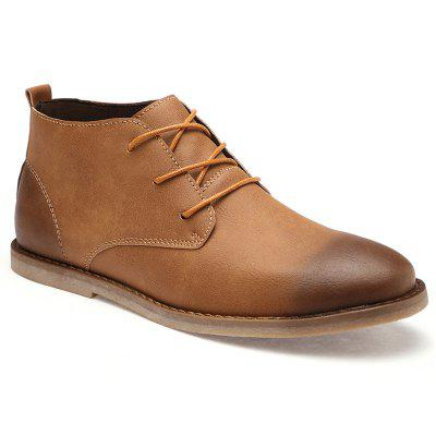 Men Casual Trend for Fashion Lace Up Leather shoes