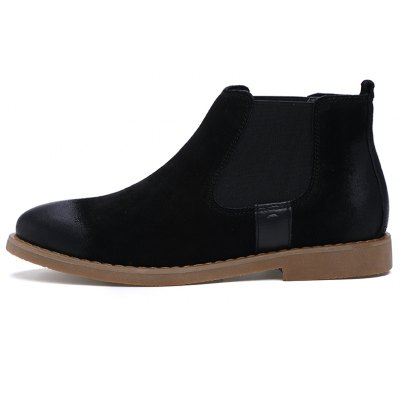 """Men Casual Trend for Fashion Slip on Suede Ankle Boots ShoesMens Boots<br>Men Casual Trend for Fashion Slip on Suede Ankle Boots Shoes<br><br>Boot Height: Ankle<br>Boot Type: Fashion Boots<br>Closure Type: Slip-On<br>Embellishment: None<br>Gender: For Men<br>Heel Hight: Low(0.75""""-1.5"""")<br>Heel Type: Low Heel<br>Outsole Material: Rubber<br>Package Contents: 1 xShoes(pair)<br>Pattern Type: Solid<br>Season: Spring/Fall, Winter<br>Toe Shape: Round Toe<br>Upper Material: Flock<br>Weight: 1.2000kg"""