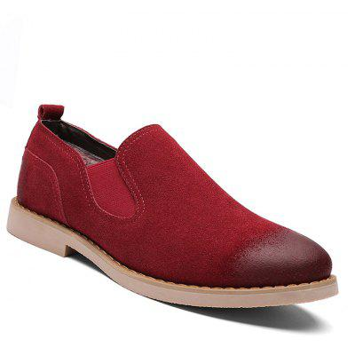 Men Casual Trend for Fashion Slip on Suede Snow Warm Winter Shoes