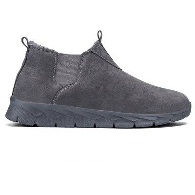 Men Outdoor Casual Fashion Warm Cotton Boots Hiking Winter Sneakers Walking Sport