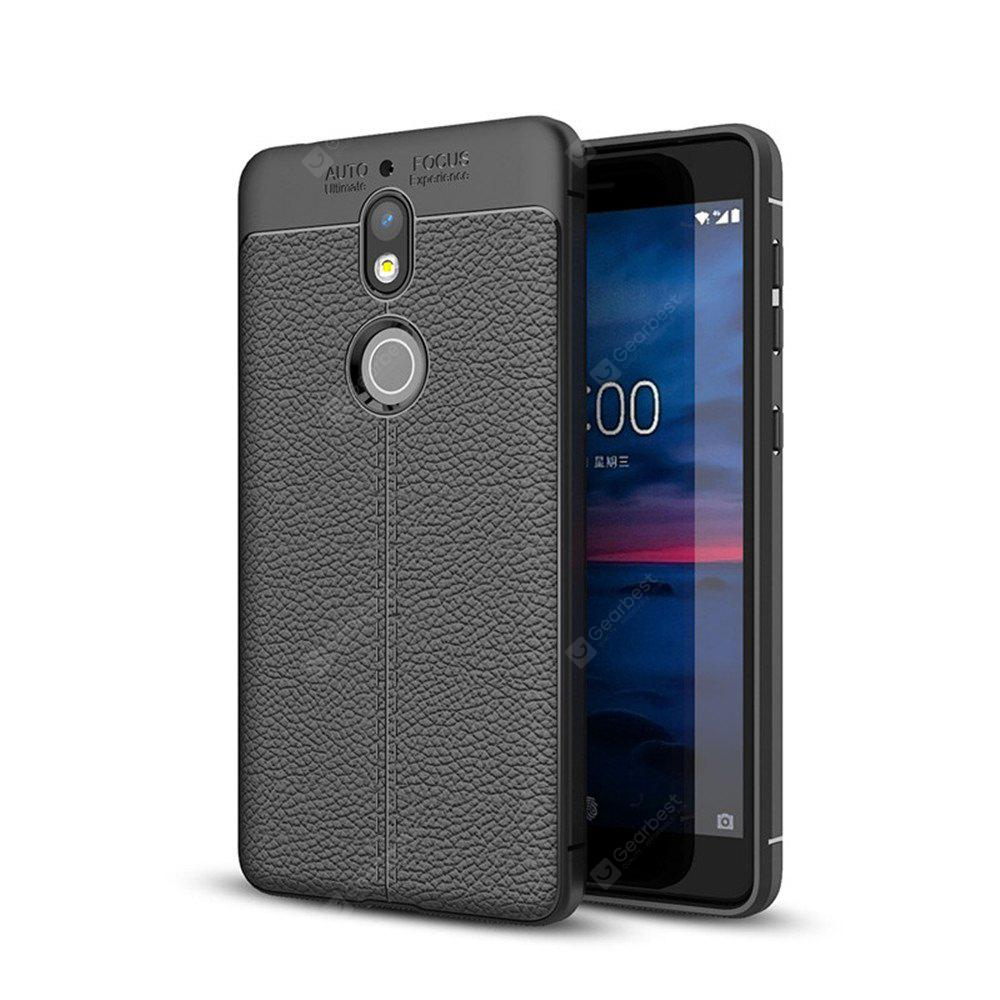 Shockproof Back Cover Solid Color Soft TPU Case for Nokia 7