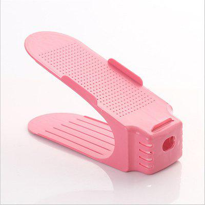 Integral adjustable shoe shoe shoe shoe shoe simple plastic double adjustable