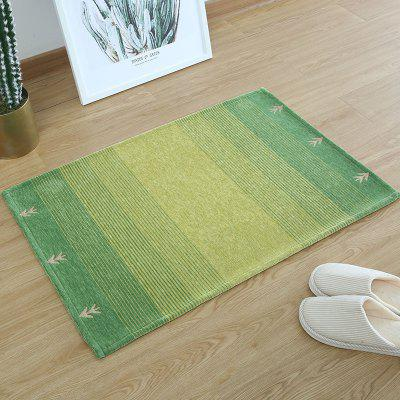 Buy Entrance hall modern simple door entrance water absorbent and antiskid foot rectangular household hand COLORMIX for $25.29 in GearBest store