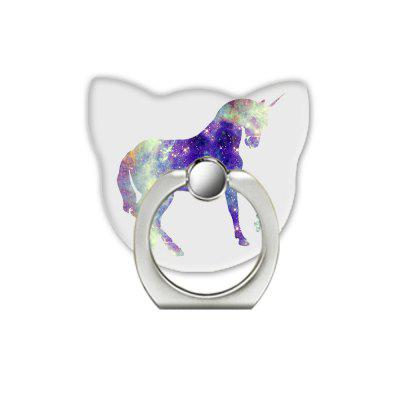 Star Horse Pattern Cell Phone Ring Stand Holder for Phone 360 Degree Rotation