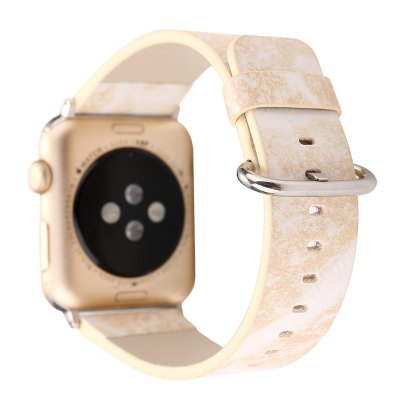 38MM Marble Design Leather Watch Band for Apple Watch Wrist Watch Strap Belt for Iwatch Series 1 2 3