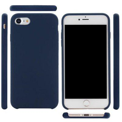 Pure Color Plain Weave Rear Case Cover for iPhone 7/8