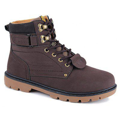 Large Size Shoes High Helper Shoes Outdoor Martin Boots Work with Big Shoes