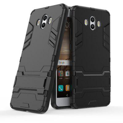 Siliconen PC Armour Kickstand Case voor Huawei Mate 10