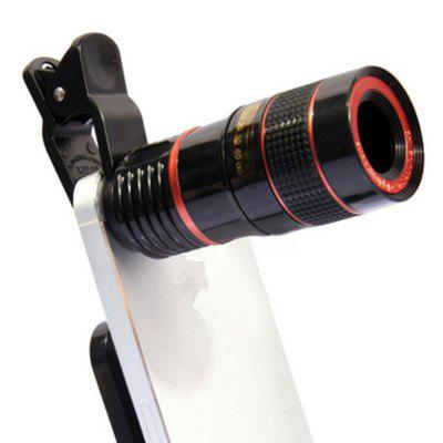 Mobile Phone Retractable 8x Focus Special Effects Hd 8-fold universal Mobile Phone Zoom Lens