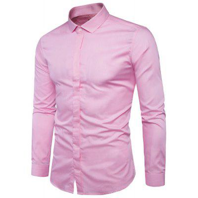 New Pure Cotton Long Sleeved Shirt