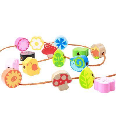 Better Than 6 Colors of Color To Recognize Wooden Children'S Colourful Shape Boxes BH2602