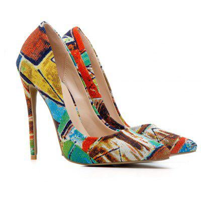 Women'S Shoes Pump Customized Materials Stiletto Heel Pointed Toe