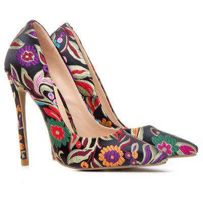 Women's Shoes Pointed Toe Pump Customized Materials Stiletto Heel