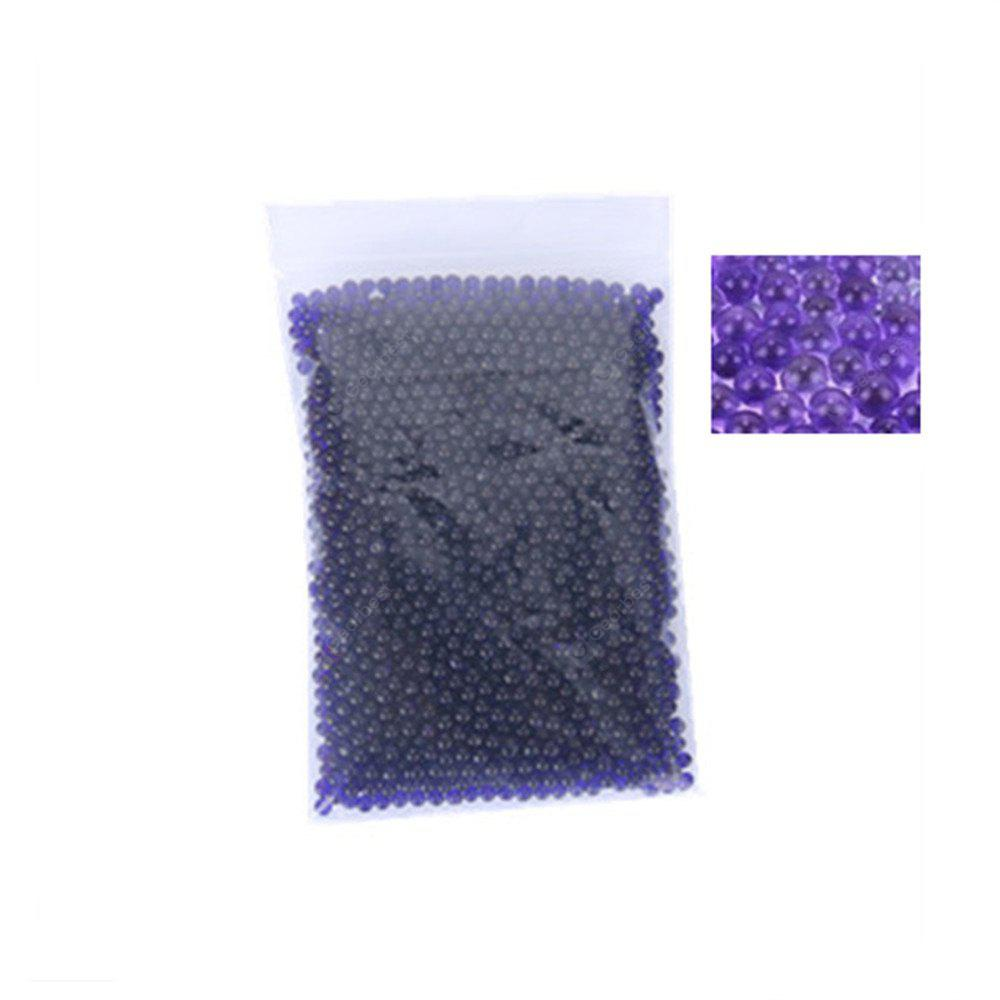 Buy 300Soft Crystal Soil Grow Hydrogel Water Gun Bullet Toy Beads Plant Flower Cultivate Mud Magic Ball Home Decor PURPLE