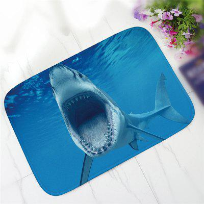 Creative Shark Pattern Antiskid Floor Mat