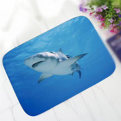 Creative Big Shark Undersea Pattern Antiskid Floor Mat