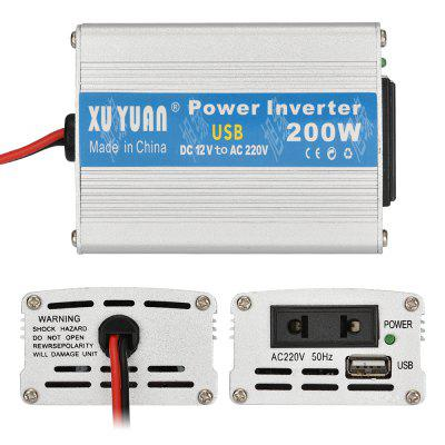 Xuyuan 12V to 220V 200W Car On Board Inverter Converter