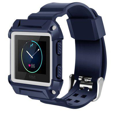 for Fitbit Blaze Bands Large Iitee Shockproof Slim Protective Frame Case with Strap Bands for Fitbit Blaze