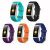 G18S Color Screen Pedometer Smart Wristband Heart Rate Monitor Activity Tracker Smart Bracelet Fitness Tracker - ORANGE