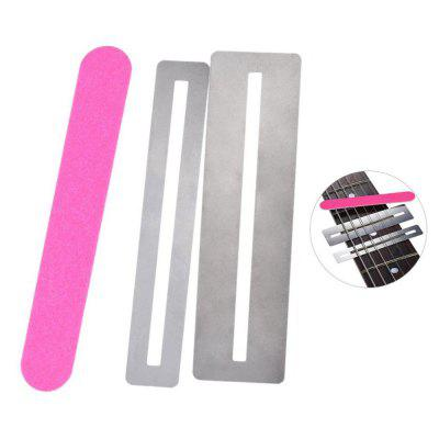 Stainless Steel Fretboard Guard Protector 2pcsOther Musical Instruments<br>Stainless Steel Fretboard Guard Protector 2pcs<br><br>Key Number: Other<br>Manner of Articulation: Other<br>Material: Metal<br>Number of Holes: Other<br>Package Contents: 2 x Shim? 1 x Sanding Piece<br>Package size: 10.00 x 5.00 x 1.00 cm / 3.94 x 1.97 x 0.39 inches<br>Package weight: 0.1100 kg<br>Product size: 7.80 x 2.20 x 0.50 cm / 3.07 x 0.87 x 0.2 inches