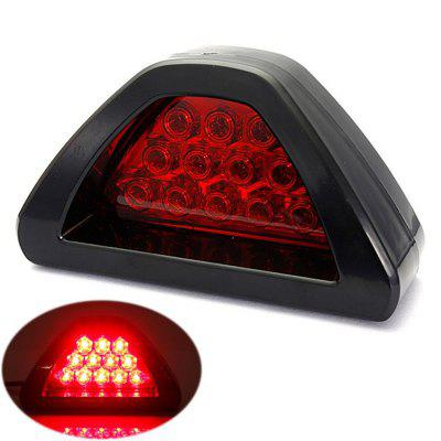 Universal Car Styling LED Rear Tail Light Flashing Warning Fog Lamp