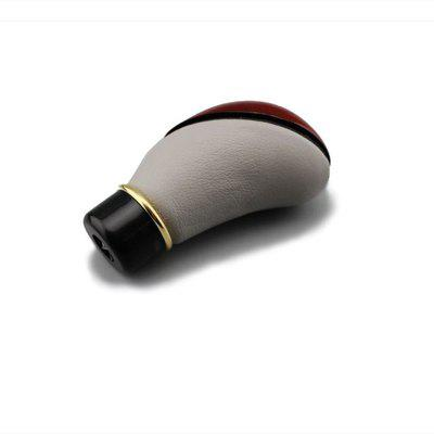 Automobile Universal Manual Leather 5 Speed Gear Shift Knob