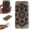 Black Sunflower Diamond Soft Clear IMD TPU Phone Casing Mobile Smartphone Cover Shell Case for Samsung J310 J3 2016 - BLACK