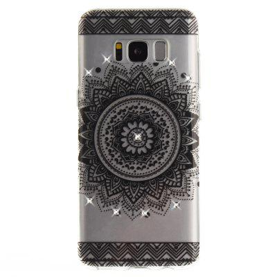 Black Datura Diamond Soft Clear IMD TPU Phone Casing Mobile Smartphone Cover Shell Case for Samsung S8Samsung S Series<br>Black Datura Diamond Soft Clear IMD TPU Phone Casing Mobile Smartphone Cover Shell Case for Samsung S8<br><br>Compatible Model: Samsung S8<br>Features: Back Cover, Anti-knock<br>Material: TPU<br>Package Contents: 1 x Phone Case<br>Package size (L x W x H): 17.00 x 7.00 x 1.00 cm / 6.69 x 2.76 x 0.39 inches<br>Package weight: 0.0110 kg<br>Product Size(L x W x H): 16.00 x 6.00 x 1.00 cm / 6.3 x 2.36 x 0.39 inches<br>Product weight: 0.0100 kg<br>Style: Pattern, Diamond Look