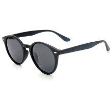 TOMYE P6046 Men's Polarized Sunglasses Round Frame Cozy Design