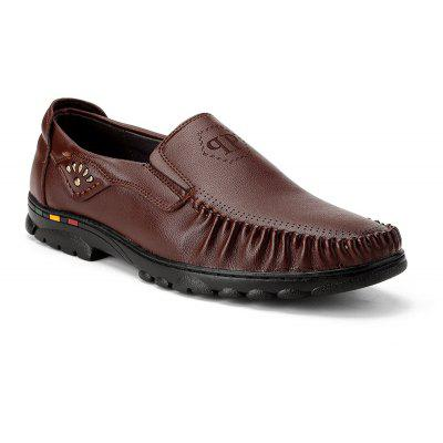 Comfortable Warm and Slip on Shoes para homens casuais