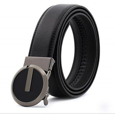 Men's business Korean style automatic buckle leather belt