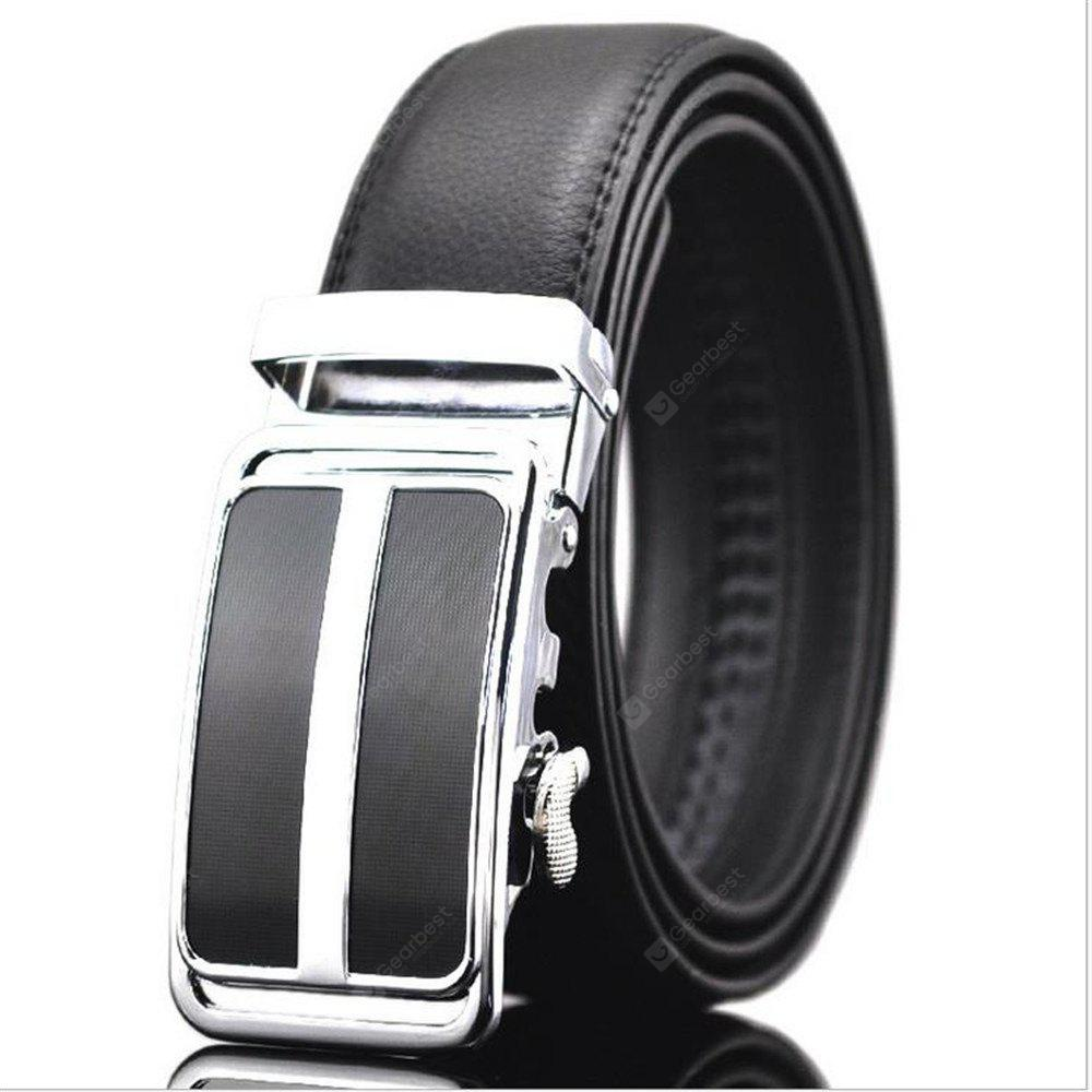 Leisure Korean Style Automatic Leather Belt Buckle Men