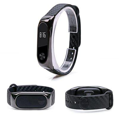 Metal Case Colorful Strap Wristband Replacement Smart Band Accessories For Mi Band 2