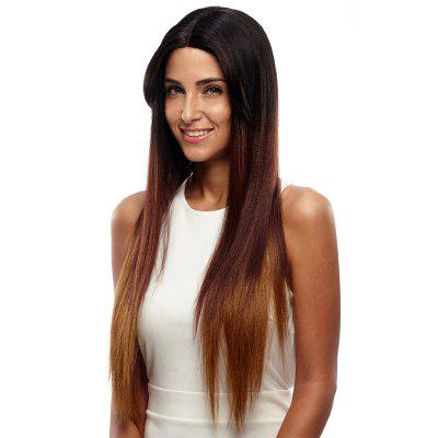 Rebecca Synthetic Hair Straight Lace Front Wig Blonde Hair 31 Inch RC0669